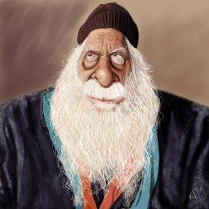 KASHEM CARICATURE BY MISHU