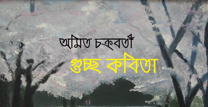 গুচ্ছ কবিতা ।। অমিত চক্রবর্তী