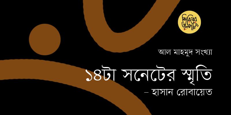 ১৪-টা সনেটের স্মৃতি | হাসান রোবায়েত